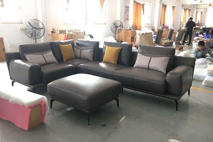 Xưởng sofa - khu hoàn thiện đóng ghế sofa theo yêu cầu